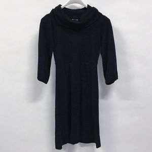 New Directions Black Sweater Dress